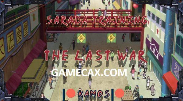 SARADA TRAINING THE LAST WAR