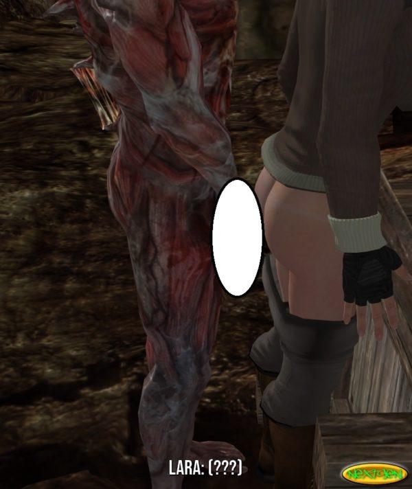 Lara Gets Captured