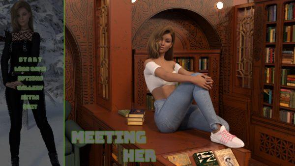 Meeting her