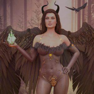 Maleficent: Banishment of Evil